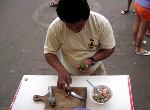 Ceviche crevettes Equateur 2