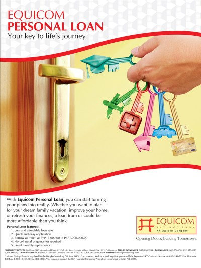 Products and Services - Equicom Savings Bank