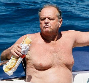 Jack Nicholson's Man-Breasts