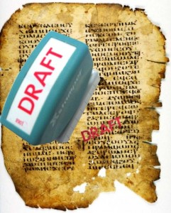 """According to Casey, the whole of the Gospel of Mark is incomplete, a """"first draft"""""""