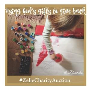 #Zeliecharityauction