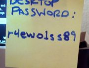 Password-on-a-Post-It-Note
