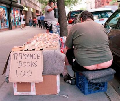 Vendedor de libros en el Upper West Side