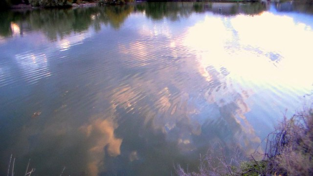 Reflecting on clouds 2