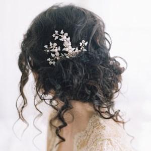 SASSAFRAS BRIDAL LEAF HAIR CLIP NO. 2044