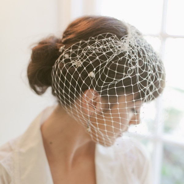 12″ RETRO NET BLUSHER VEIL