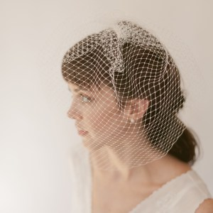 birdcage veil, french net, wedding veil, bridal hair accessories, veil