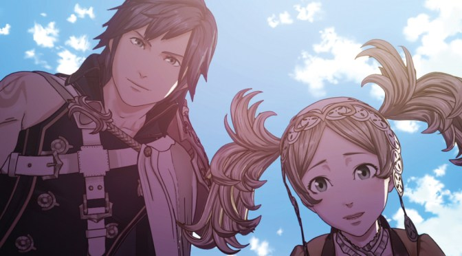 Chrom and Lissa, two main characters from Fire Emblem Awakening.