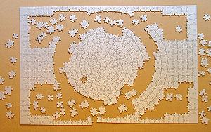 English: Puzzle Krypt