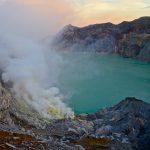 Kawah Ijen Volcano: Blue Fire and Sulfur Miners