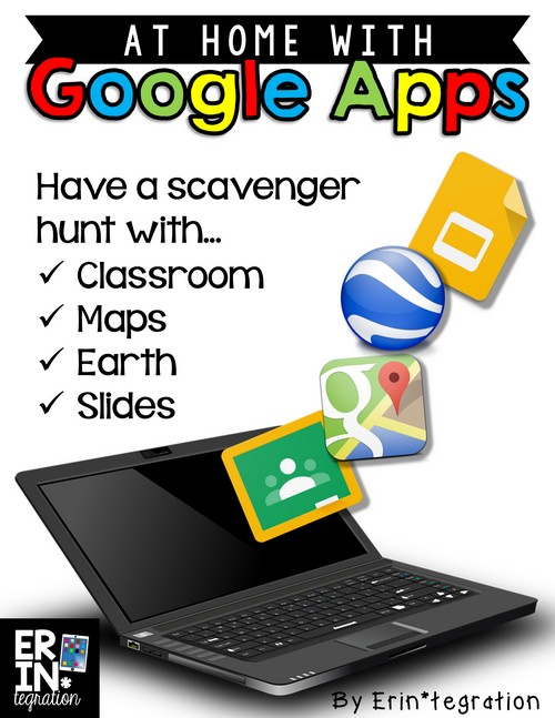 At home with Google Apps Homework ideas with GAFE. Send your students around the world with a scavenger hunt on Google Earth. Includes how-to assign it on Google Classroom, a free Google slideshow template, free screen shot directions download and more!