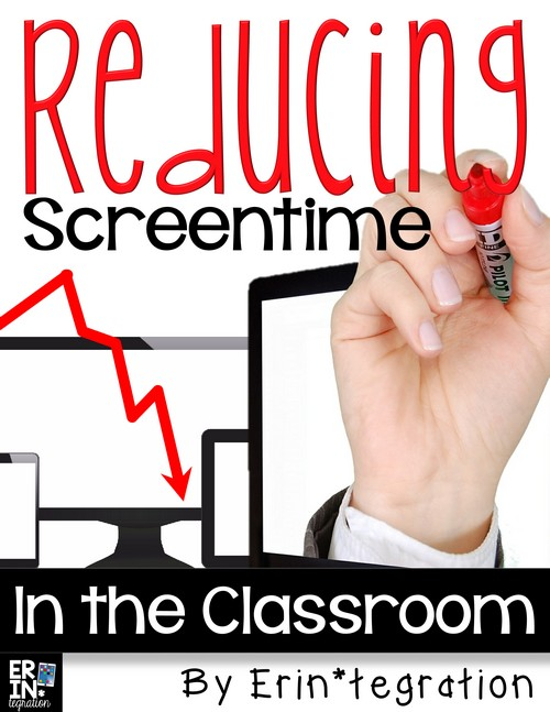 Tips for reducing screentime in the 1:1 (or close to it) classroom. Definitely something worth reading if your students are spending a lot of time in class on devices!