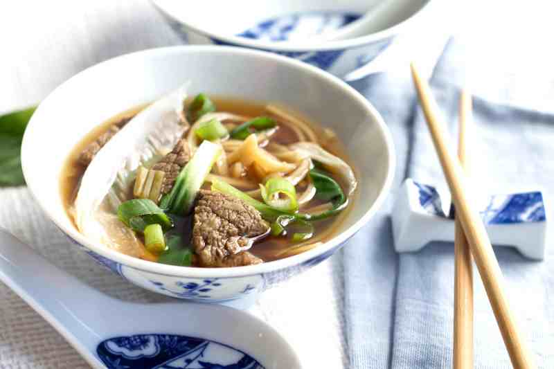 Large Of Beef And Noodles Recipe