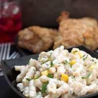 Quick and Easy Corn & Tuna Pasta Salad