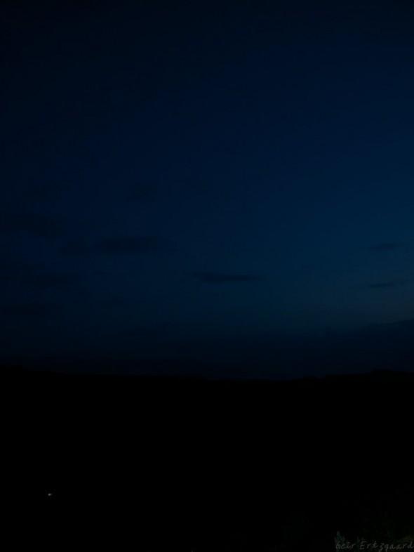 The sky above Awassa. Foto: Geir