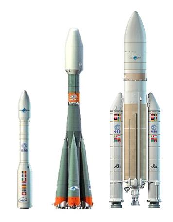 Space in Images - 2007 - 06 - A partir de 2009, l'Europe disposera de Vega, Soyouz 2 et Ariane 5