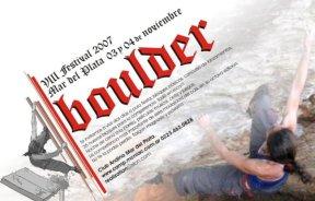 VIII Festival de Boulder en Mar del Plata
