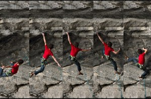 Adam Ondra encadena Change 9b+ Cueva de Flatanger en Noruega - Foto Petr Pavlicek