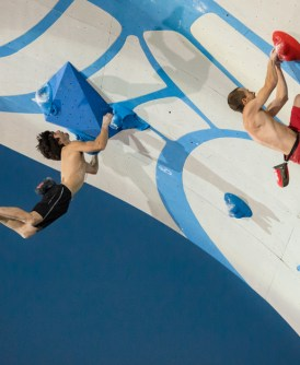 Video escalada Espectacular Psicobloc Masters 2014