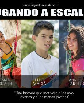 Tráiler documental de escalada: Jugando a Escalar