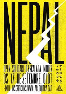 NEPAL Open Solidario de Escalada Indoor en rocodromo La Bloquera @ La Bloquera | Olot | Catalunya | España