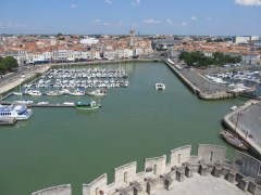 La Rochelle from Tour Saint-Nicolas