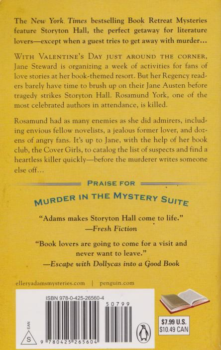 Escape With Dollycas Into A Good Book made the back cover!!!