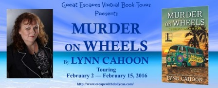 MURDER ON WHEELS large banner448