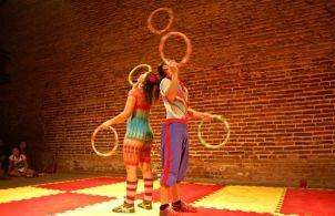 """Espetáculo """"Sonho do Circo"""", repertório, em 2015, da Trupe Circus."""