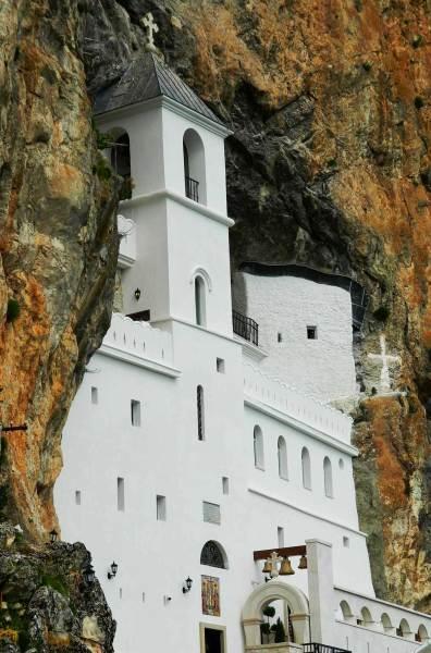 Atrações de Montenegro - Monastério Ostrog