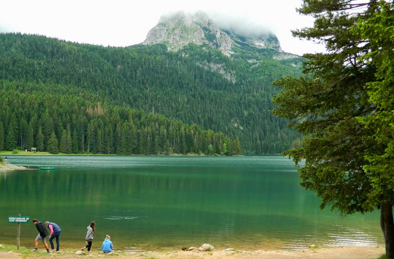 Atrações de Montenegro - Lago Negro (Crno Jezero)