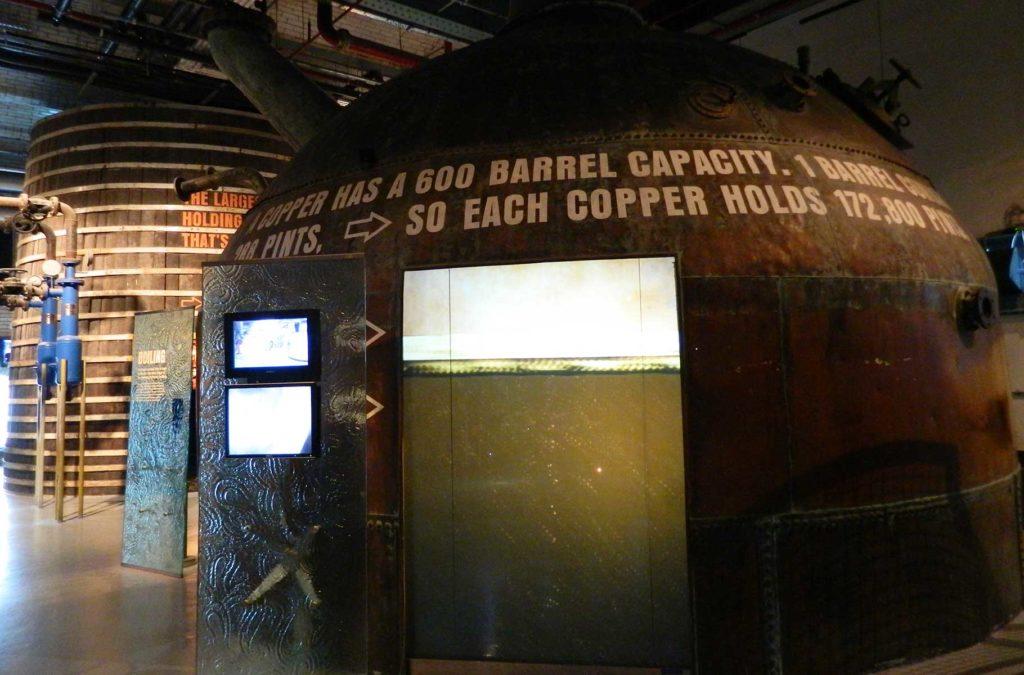 Decepções de viagem - 'Guinness Storehouse', em Dublin (Irlanda)