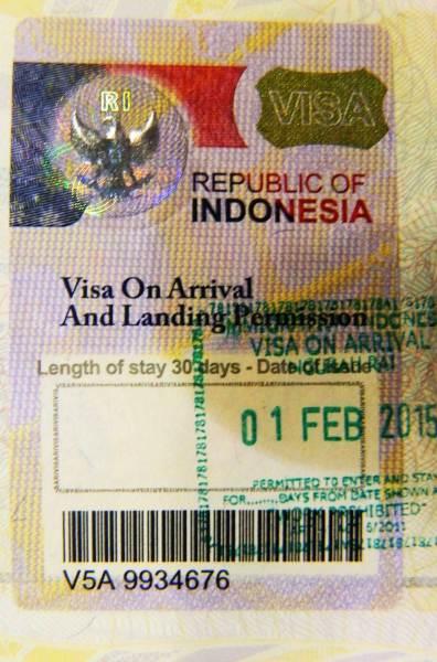 Precisa de visto para viajar à Indonésia?