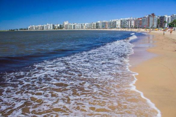 O que fazer em Montevidéu - Praia de Pocitos