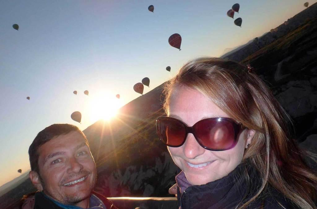 Quanto custa viajar para Turquia - Voo de balão na Capadócia