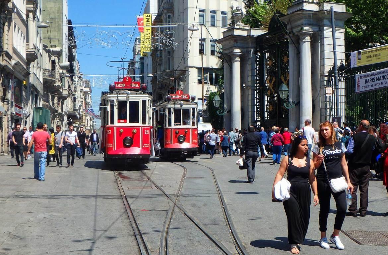 Quanto custa viajar para Turquia - Bondes em Istambul