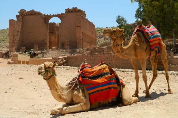 Fotos da Jordânia - Ruínas de Petra