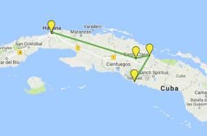 Guia de Viagem Cuba - Roteiro