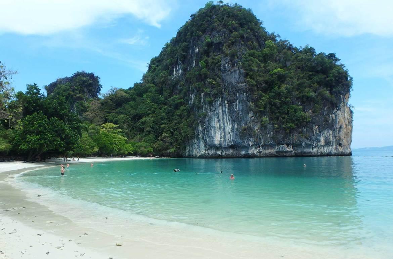 Roteiro de viagem pela Tailândia - Hong Island (Railay Beach)
