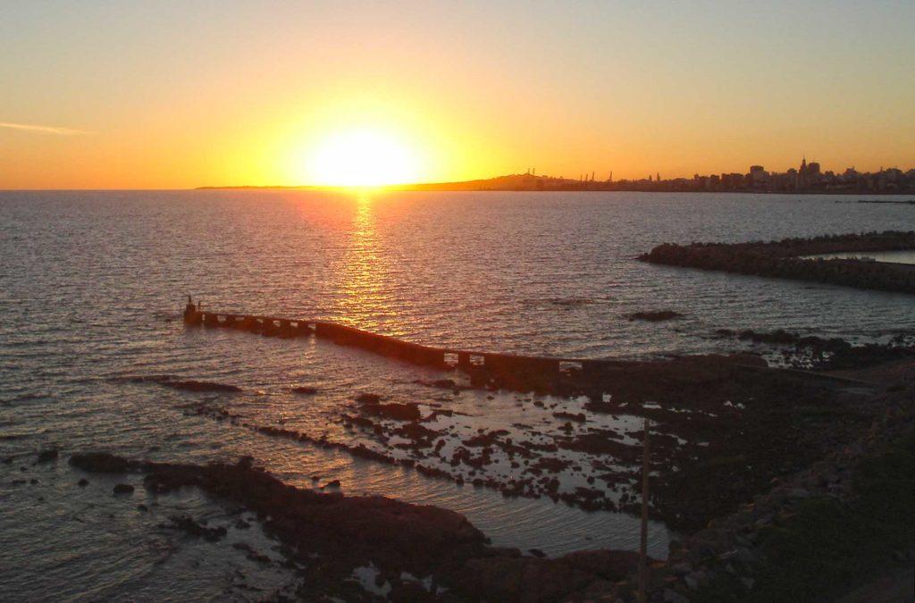 Dicas de Montevidéu - Pôr do sol