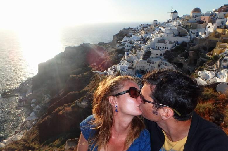 Lugares mais românticos do mundo - Ilha de Santorini (Grécia)