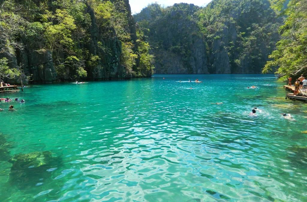 O que fazer nas Filipinas - Lago Kayangan