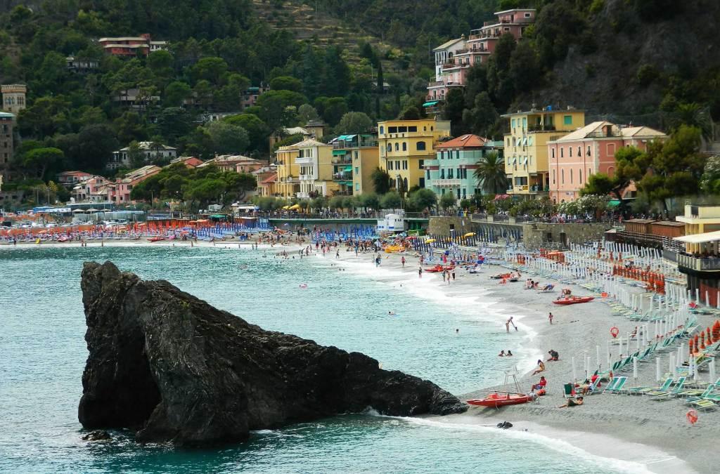 Praias mais bonitas da Europa - Monterosso al Mare (Itália)