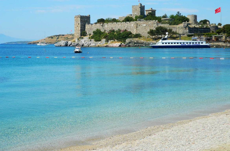 Praias mais bonitas da Europa - Bodrum (Turquia)