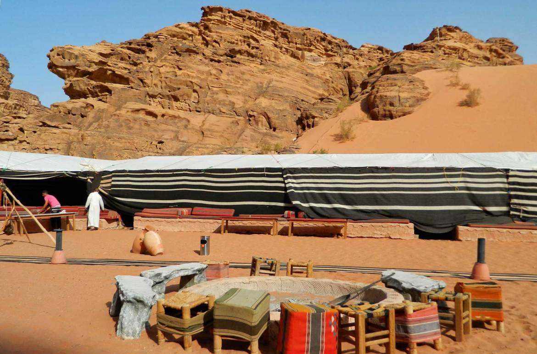 Dicas da Jordânia - Acampamento no deserto