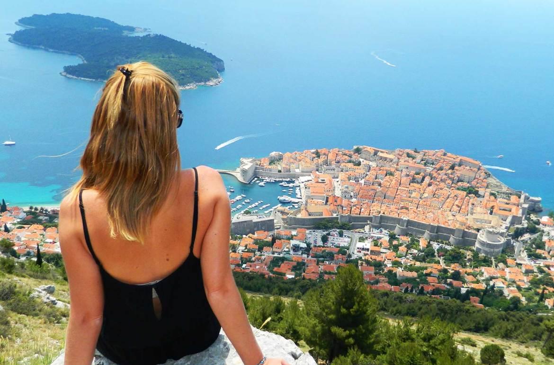 Fotos da Croácia - Vista de Dubrovnik