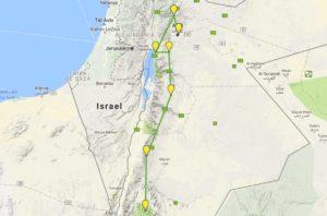 Guia de viagem Jordânia - Roteiro