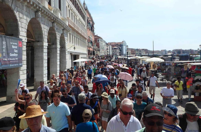 Verão na Europa pode ser roubada - Veneza (Itália)