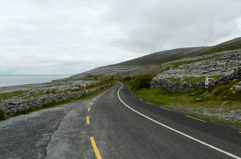 Como tirar boas fotos de viagem - Curva de estrada