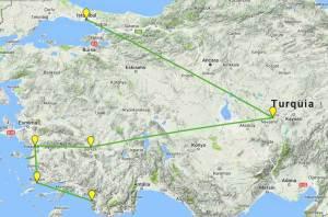 Guia de Viagem Turquia - Roteiro